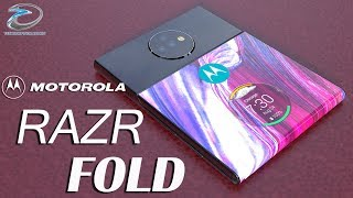 Moto Razr Fold Introduction Concept Design With 48MP Camera, the Ultimate foldable Smartphone!!