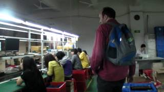 Shenzhen Factory Tour, exclusive video at the Hongda Laptop Factory
