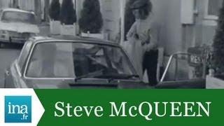Steve McQueen, sa première journée au Mans - Archive vidéo INA