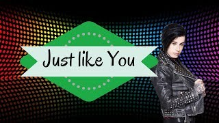 Just like you - Falling In Reverse (unofficial lyrics video)