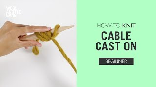How to knit: Cable Cast On