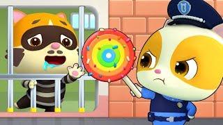 Cảnh sát Mimi và tên trộm kẹo | Mèo con làm cảnh sát | Nhạc thiếu nhi vui nhộn | BabyBus