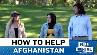 What American Citizens Can Do To Help Afghanistan