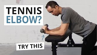How to Treat Tennis Elbow with 3 Effective Exercises