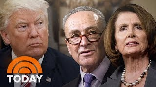 President Donald Trump Disputes Democrats' Account Of Dinner Deal On DACA, Border Wall | TODAY
