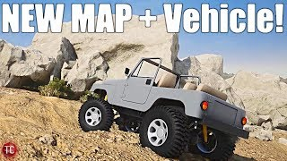 Pure Rock Crawling: NEW DESERT MAP 2019 and VEHICLE GAMEPLAY!!