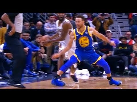 Stephen Curry Breaks His Leg (Scary Injury)