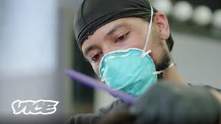 Underground Barber Shops Under Quarantine
