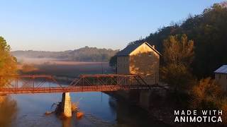Drone video film of Motor Mill by photographer Dave Beck