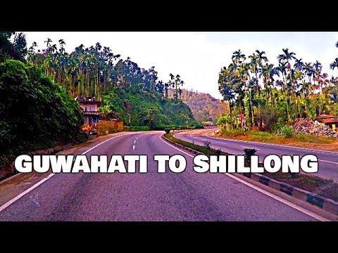 Guwahati (Assam) to Shillong (Meghalaya) by Road HD