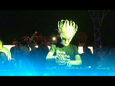 Boris Brejcha techno - Rare closeup video!!!