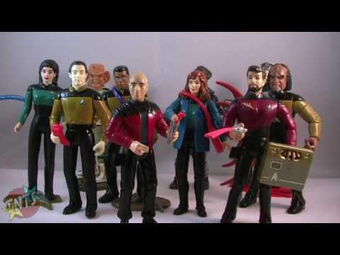 Star Trek TNG Playmates Toys Action Figure Retrospective