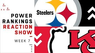 NFL Power Rankings Reaction Show: Lots of Movement in Top 5 | NFL Network