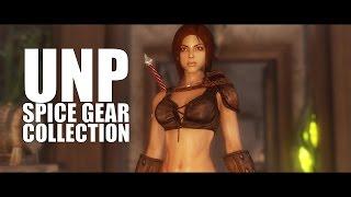 TES V - Skyrim Mods: UNP Spice Gear Collection