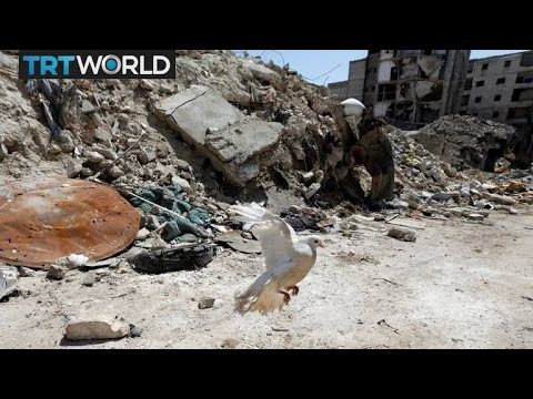 The War in Syria: Syrians living in the ruins of Aleppo