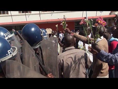 Αντικυβερνητικό συλλαλητήριο στη Ζιμπάμπουε