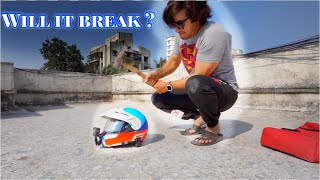 HAMMER TEST | WILL MY HELMET BREAK ?