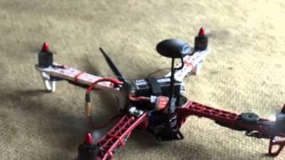 Quadricopter Pixhawk PX4 Tower 3DR App @ Floripa Drone Setup