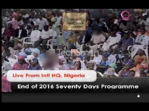 End of 2016 70days programme | Mountain of fire and Miracles Ministries | Dr Daniel Olukoya