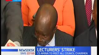 UASU and KUSU maintain the strike is still on until government honors their CBA