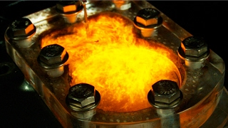 See Thru Engine Runs Tequila, 151, and Propane - in 4K Slow Motion