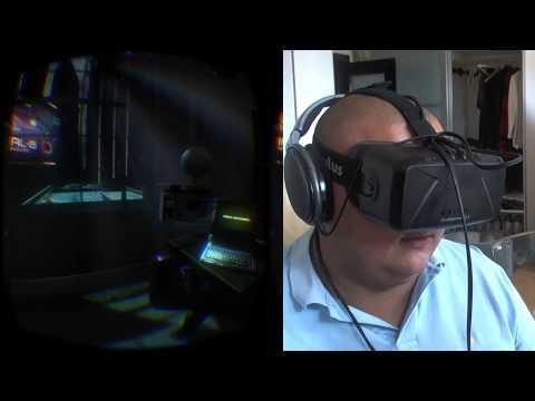 Technolust с Oculus Rift DK - в настоящем киберпанке