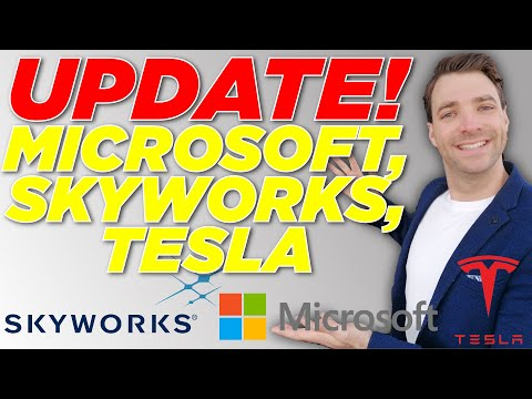UPDATE! Skyworks, Tesla,  Microsoft Stock Analysis (SWKS, TSLA, MSFT Stock Analysis)