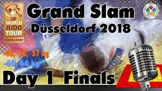 Judo Grand-Slam Düsseldorf 2018: Day 1 - Final Block