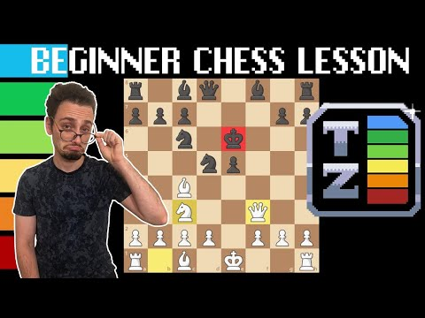 1 Hour Beginner Chess Lesson with TierZoo