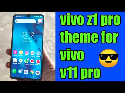 Install the theme and launcher of vivo v11 pro on any
