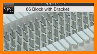How to punch down a 25 pair cable to a 66 block