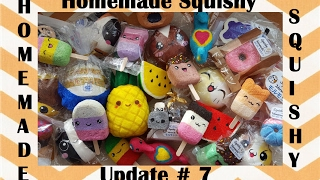 HOMEMADE SQUISHY UPDATE #7 | Over 220 total!! | Kawaii Pineapple 2.0!