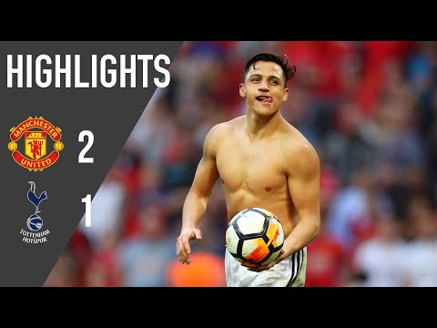 Manchester United HIGHLIGHTS & CELEBRATIONS v Spurs #EmiratesFACup semi final | Manchester United