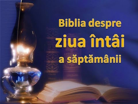 Biblia despre Duminica