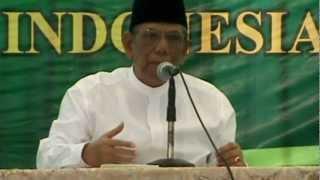 KH Hasyim Muzadi Halal Bihalal PPP Jatim Di PP Al Hikam Malang