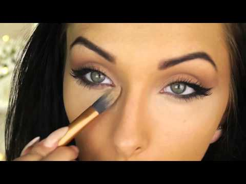 Angelina Jolie Inspired Cat Eye Makeup Tutorial ♡ Round Eyes To Cat Eyes