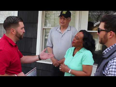 We visited Denise and Kerry Campinha at their Wareham home for the first time since the couple won the Couto Cares Roof Giveaway. The contest ran in March 2018 in reaction to the severe weather that affected homeowners across the state. Couto Construction will install the Campinhas roof free of charge.