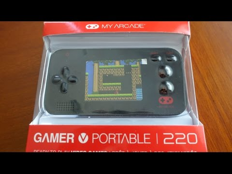 DreamGEAR Gamer V portable / My Arcade 220 Review