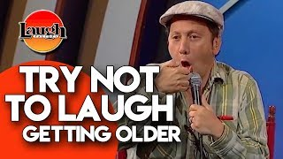 Try Not To Laugh | Getting Older | Laugh Factory Stand Up Comedy - Video Youtube