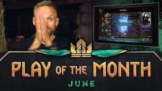 GWENT: THE WITCHER CARD GAME | Play of the Month (June 2018)
