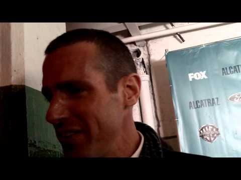 Jefrey pierce talk about Alcatraz