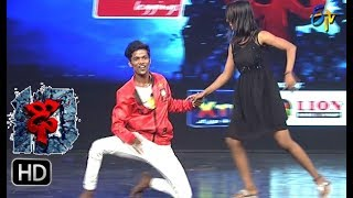 Bobby Performance   Dhee 10   30th  August 2017  ETV Telugu