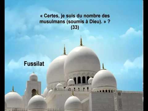 Sourate Les versets détaillés <br>(Fussilat) - Cheik / Mishary El Afasy -