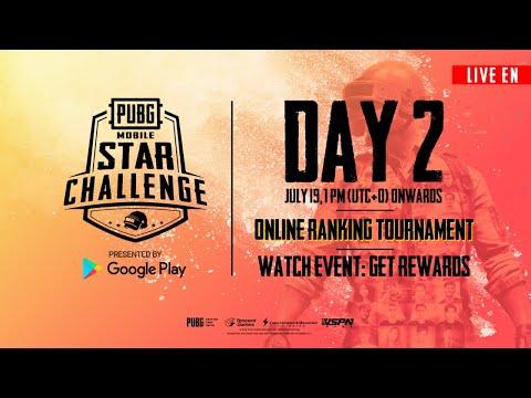 [EN] PMSC Online Ranking Tournament Day 2 | PUBG MOBILE STAR CHALLENGE 2019