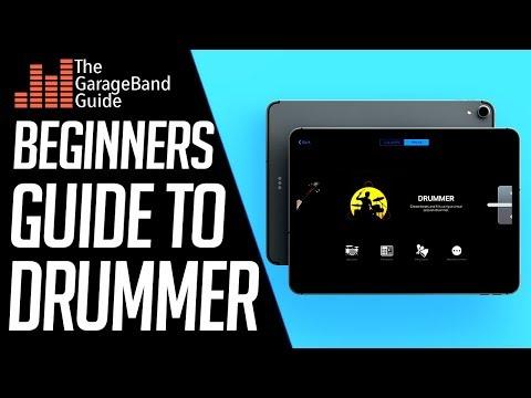 GarageBand Tutorial - Drummer