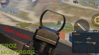 Impossible DP-28 shot PUBG MOBILE(part 11)