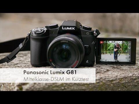 photokina 2016 | Panasonic Lumix DMC-G81 - Lumix G70 Nachfolger im Kurztest [Deutsch]
