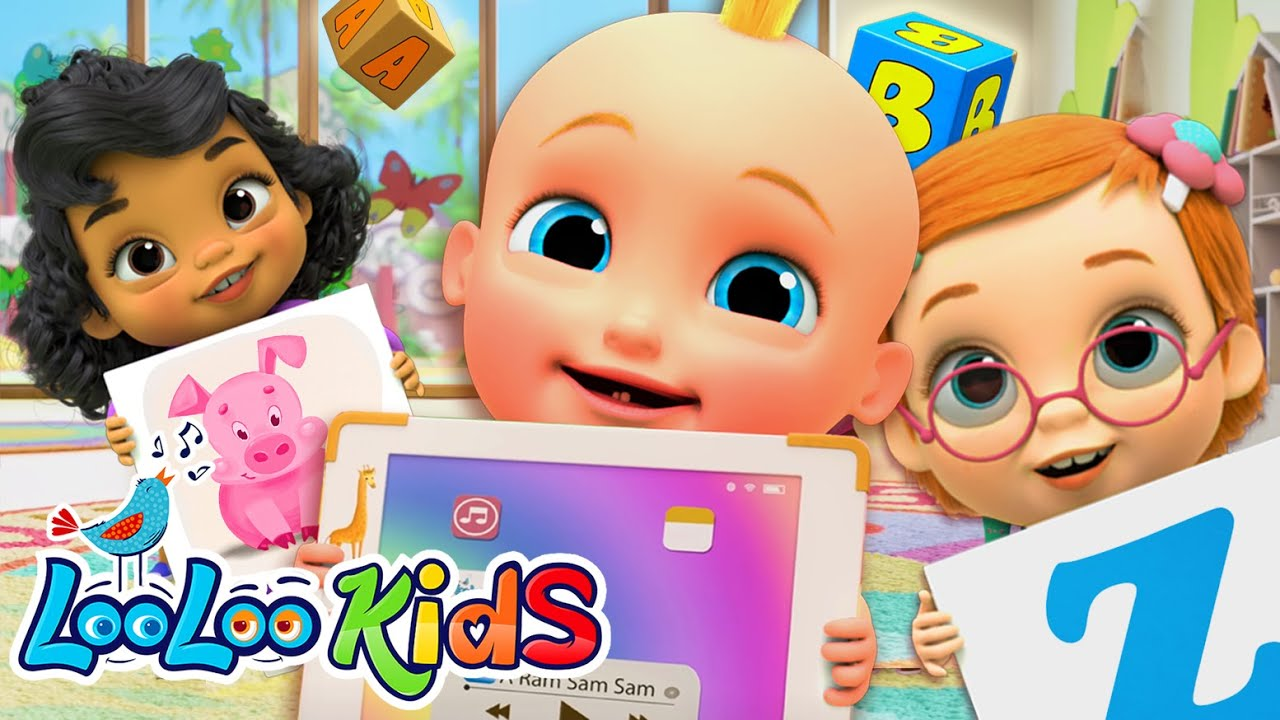 Learning Baby RHYMES Learning ABC LooLoo Kids Nursery Rhymes and Childrens Songs