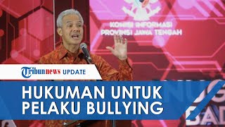 Instagram Ganjar Dibanjiri Usulan Hukuman untuk Pelaku Bullying Purworejo