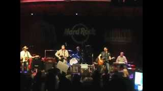 "Country rock at Hard Rock Cafe New York ""After the Rain"" Band"
